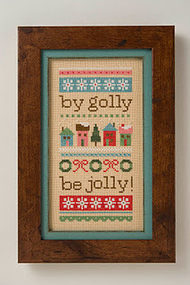 click here to view larger image of Be Jolly (counted cross stitch kit)