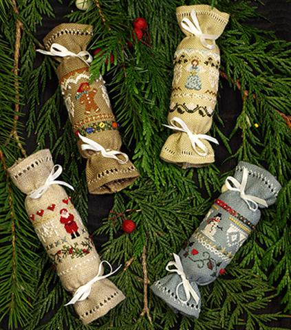 click here to view larger image of Beautiful Finishing 8 - Christmas Crackers (chart)