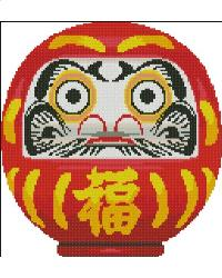 click here to view larger image of Daruma Doll (chart)