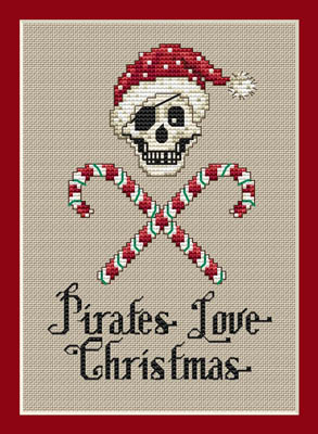 click here to view larger image of Christmas Pirate (chart)