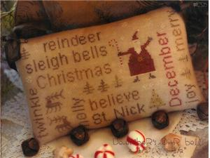 click here to view larger image of December Door Bells - Word Play (chart)