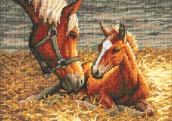 click here to view larger image of Good Morning (counted cross stitch kit)