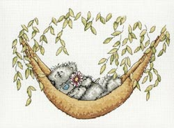 click here to view larger image of Lazy Days (counted cross stitch kit)