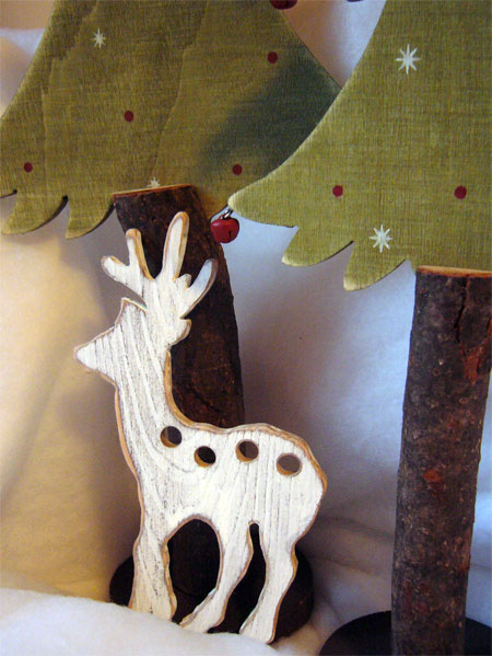 click here to view larger image of Winter Deer Thread Keeper (Storage and Craft Organisers)