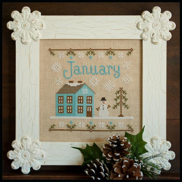 click here to view larger image of January - Monthly Cottage (chart)