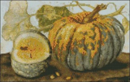click here to view larger image of Garzoni - Squash (chart)