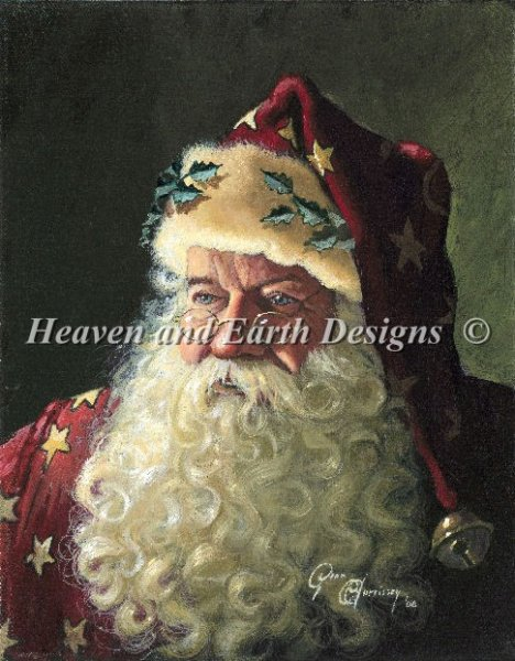 click here to view larger image of Portrait of Father Christmas (chart)