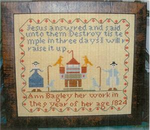 click here to view larger image of Ann Bagley Sampler (chart)