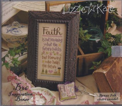 click here to view larger image of Faith - Inspiration Boxer Kit (counted cross stitch kit)
