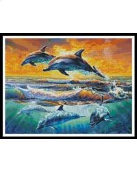 click here to view larger image of Dolphins at Dawn (chart)