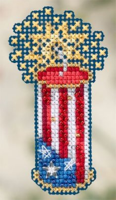 click here to view larger image of Firecracker (2012) (counted cross stitch kit)