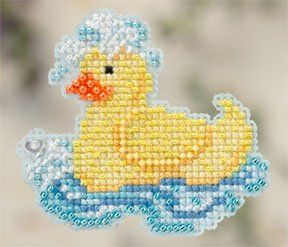 click here to view larger image of Rubber Ducky (2012) (counted cross stitch kit)
