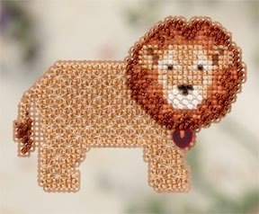 click here to view larger image of Lion Heart (2012) (counted cross stitch kit)
