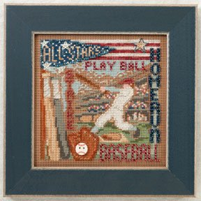 click here to view larger image of Home Run (2012) (counted cross stitch kit)