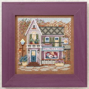click here to view larger image of Millinery Shoppe (2012) (counted cross stitch kit)