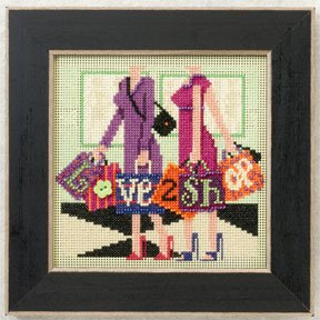 click here to view larger image of Love 2 Shop (2012) (counted cross stitch kit)