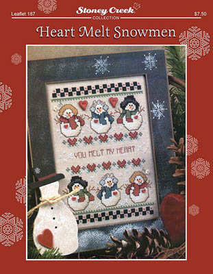 click here to view larger image of Heart Melt Snowmen (chart)