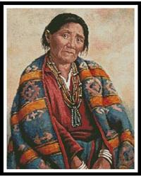 click here to view larger image of Navajo Indian Woman (chart)