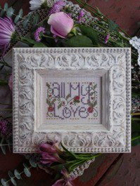 click here to view larger image of All My Love (counted cross stitch kit)