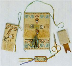 click here to view larger image of Allisons Native American Purse & Accessories (chart)