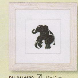 click here to view larger image of Elephant (counted cross stitch kit)
