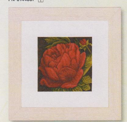 click here to view larger image of Peony (14ct) (counted cross stitch kit)