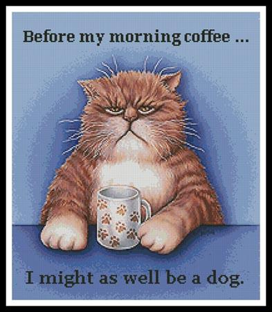 click here to view larger image of Before My Morning Coffee (chart)