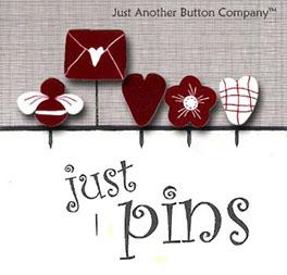 click here to view larger image of Just Pins - Will You Be My Valentine (pin)