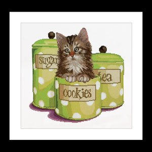 click here to view larger image of Cookie Time (counted cross stitch kit)