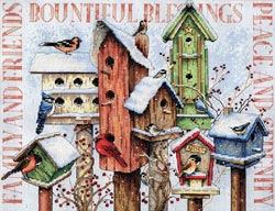 click here to view larger image of Winter Housing (counted cross stitch kit)