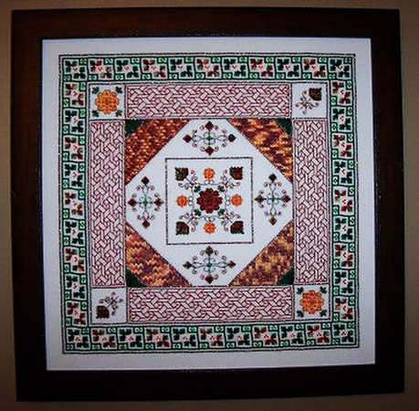 click here to view larger image of Chrysanthemum Tapestry Garden (chart)