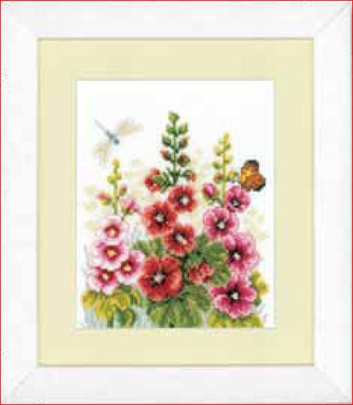 click here to view larger image of Floral (counted cross stitch kit)