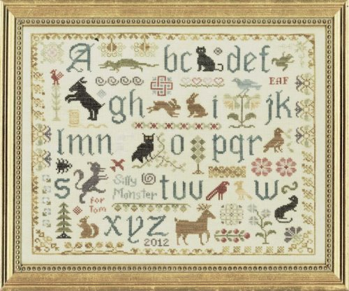click here to view larger image of Antique Animal Sampler (chart)