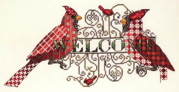 click here to view larger image of Cardinal Welcome (chart)