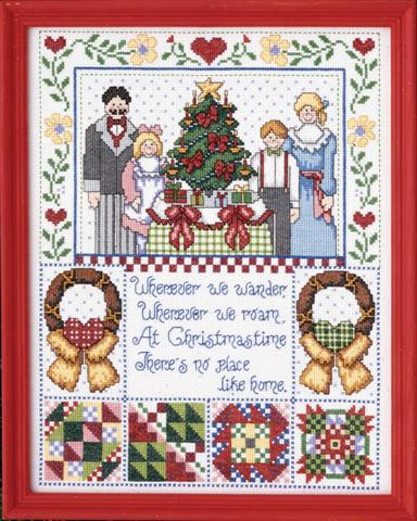 click here to view larger image of Christmas Time (counted cross stitch kit)