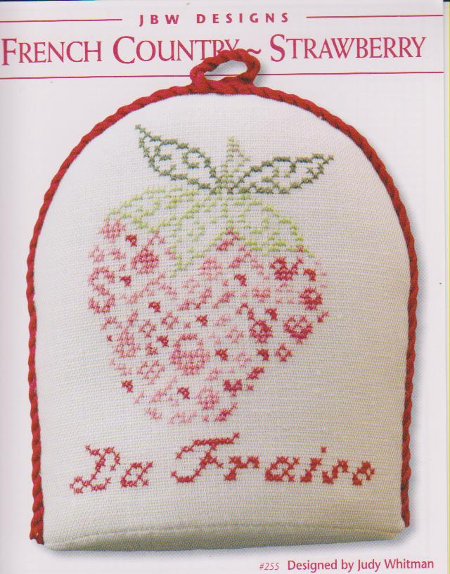 click here to view larger image of French Country Strawberry (chart)