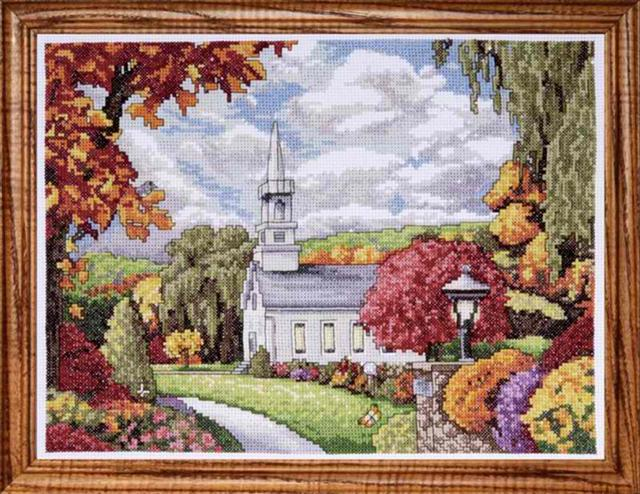 click here to view larger image of Fall Inspiration (counted cross stitch kit)
