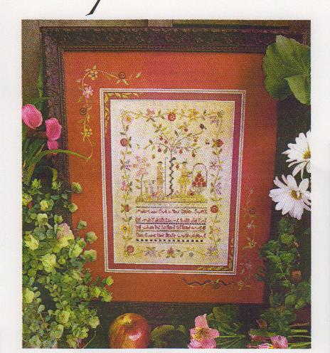 click here to view larger image of Eve's Garden (counted cross stitch kit)