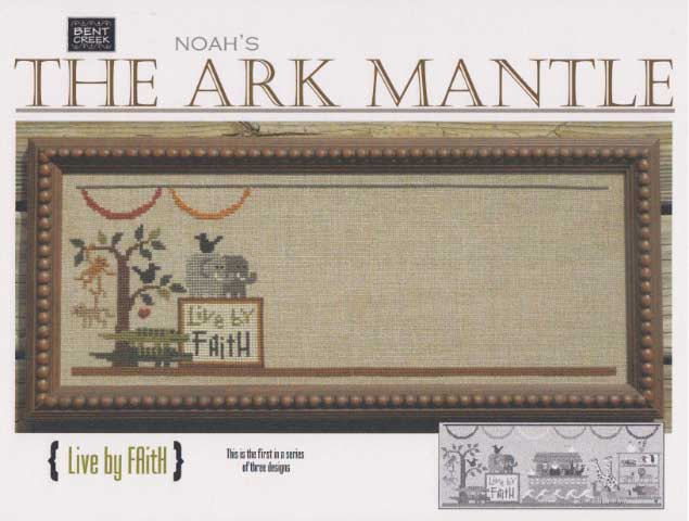 click here to view larger image of Ark Mantle - Live By Faith (counted cross stitch kit)