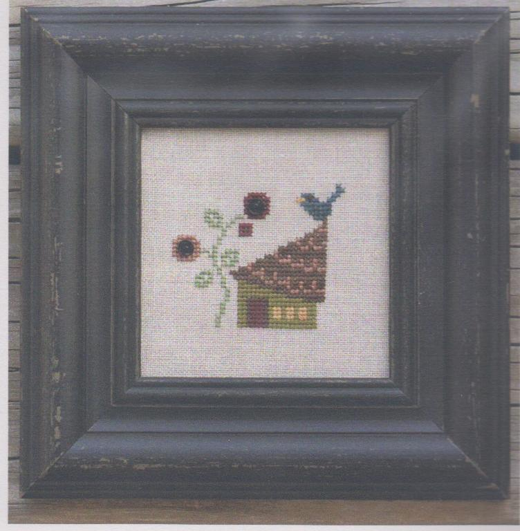 click here to view larger image of Bluebird Cottage Snapper Kit (counted cross stitch kit)