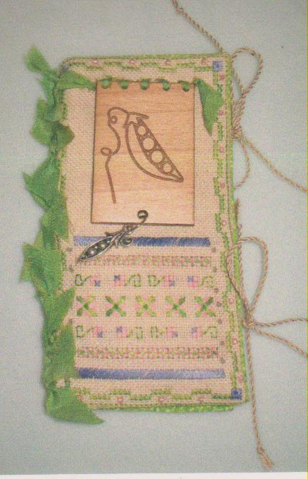 click here to view larger image of Pretty Peas (counted cross stitch kit)