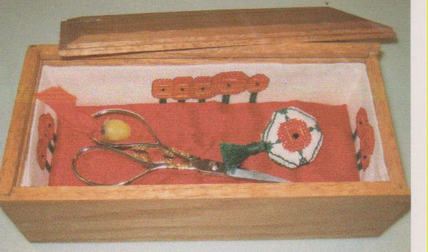 click here to view larger image of Remember The Poppies Box (counted cross stitch kit)