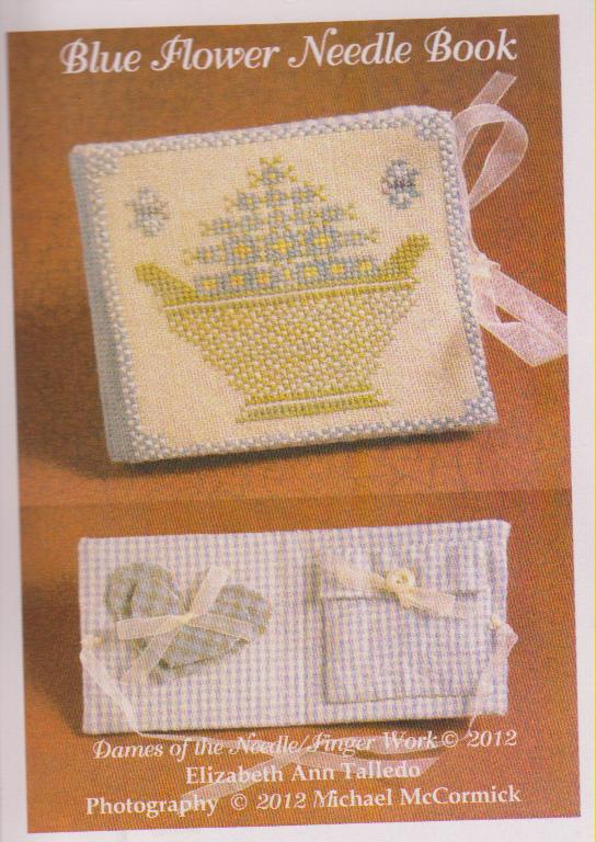 click here to view larger image of Blue Flower Needle Book (chart)