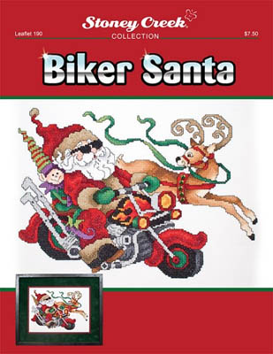 click here to view larger image of Biker Santa (chart)