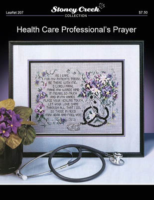click here to view larger image of Health Care Professional's Prayer (chart)