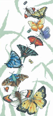 click here to view larger image of Butterfly Parade (chart)