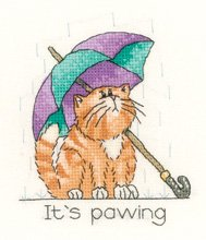 click here to view larger image of April Cat - Calendar Cats series (chart)