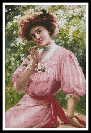 click here to view larger image of Pretty in Pink  (Emile Vernon) (chart)