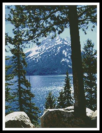 click here to view larger image of Jenny Lake (chart)