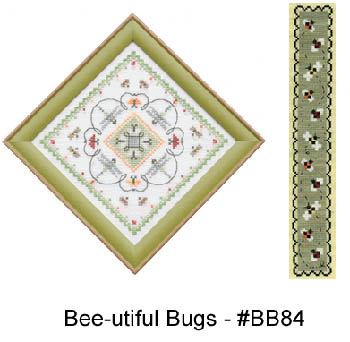 click here to view larger image of Bee-utiful Bugs (chart)